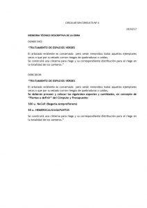 thumbnail of CIRCULAR SIN CONSULTA Nº 4 PUESTA EN VALOR PLAZA ALSINA