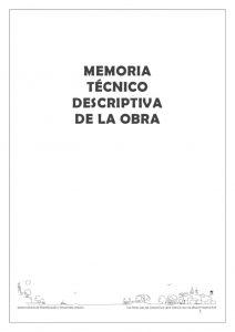 thumbnail of Memoria Técnico Descriptiva Plazoleta Los Olivos