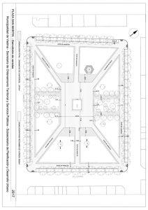 thumbnail of Plaza San Martin – demolición de veredas